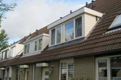 Dakkapel met plat dak in Hellevoetsluis