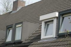 Dakkapel met plat dak in Spijkenisse